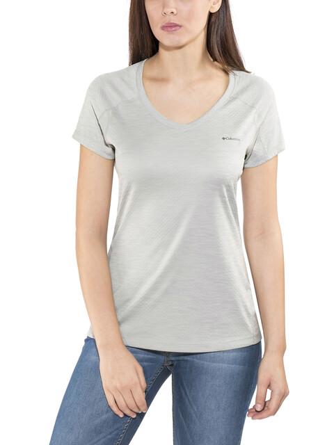 Columbia W's Zero Rules SS Shirt columbia grey heather